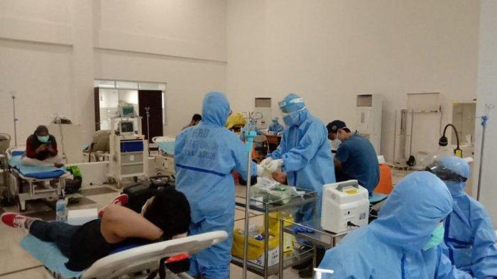 Ruang Rawat Pasien Covid-19 RSUD dr Dradjat Prawiranegara Serang Sudah Penuh