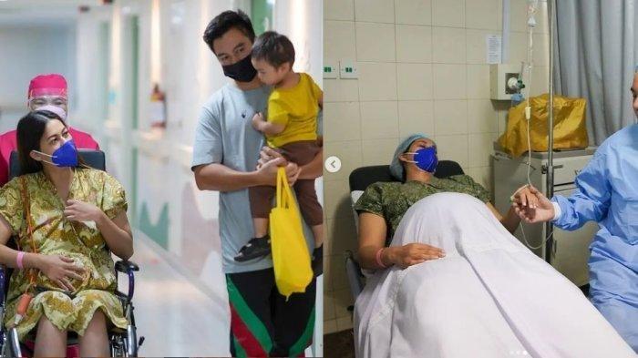 Anak Kedua Paula Verhoeven Lahir Hari Ini, Baim Wong Tegang Istrinya Terbaring di Ranjang : Doain Ya