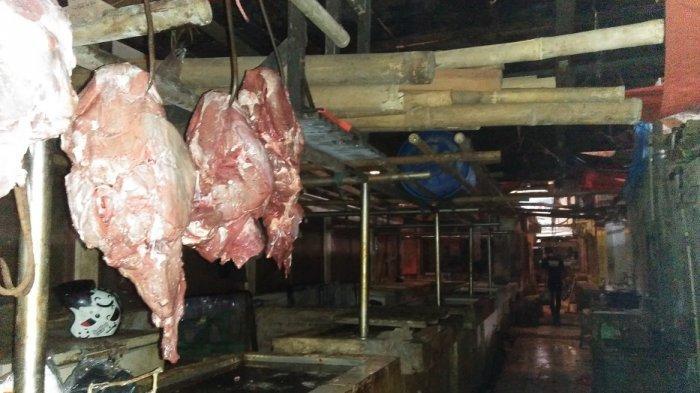 Harga Naik Stok Terbatas, Pedagang di Pasar Rangkasbitung Lebak ini Hanya Jual 3 Kg Daging Sapi