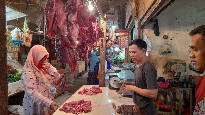 Daftar Harga Daging Sapi Lokal, Impor, dan Tetelan di Pasar Induk Rau Kota Serang Menjelang Lebaran