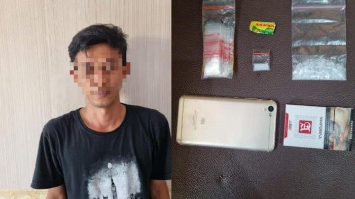 Residivis Kasus Narkoba Kembali Ditangkap Setelah kedapatan Edarkan Sabu di Lebak