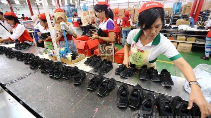 Ekspor Alas Kaki Produksi Banten Alami Peningkatan di Februari 2021