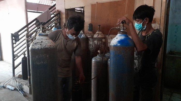 Depot Isi Ulang Oksigen di Serang Kebanjiran Pesanan, Penjual: Hanya untuk Orang Sakit