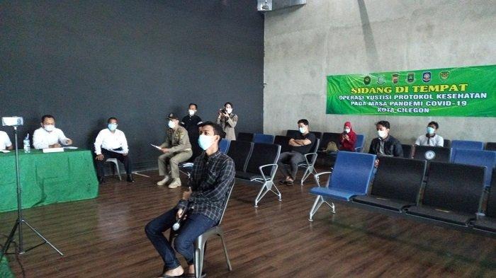 28 Pelanggar PPKM Darurat di Cilegon Disidang, Yang Tidak Hadir Tetap Divonis