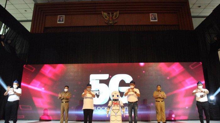 Telkomsel Luncurkan Layanan 5G di Telkom University Bandung