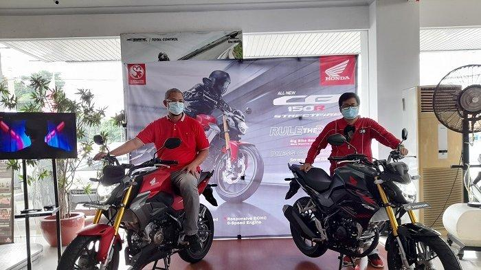 Rilis Motor Sport All New CB150R StreetFire, Honda Banten Targetkan Penjualan Naik 100 Persen