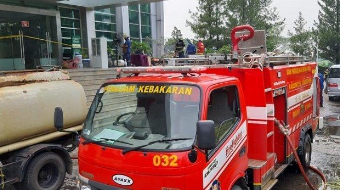 5 Mobil Pemadam Dikerahkan, Ini Penyebab Kebakaran Gereja Chatedral Gading Serpong
