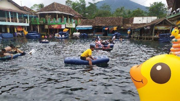 Pemandian Alam Cikoromoy Pandeglang, Dulu Penampungan Air Berubah Jadi Kolam Menyegarkan