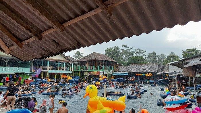 Hari Libur, Pemandian Cikoromoy Masih Diserbu Pengunjung Pasca-kejadian Muda-Mudi Mesum
