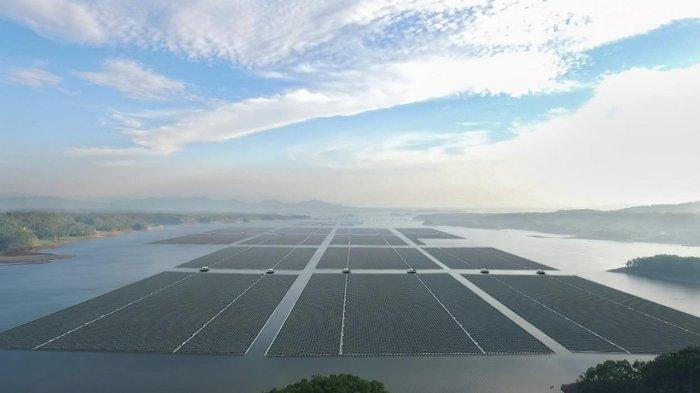 Pembangunan PLTS Terapung Terbesar di Asia Tenggara Dimulai, Beroperasi secara Komersial pada 2022