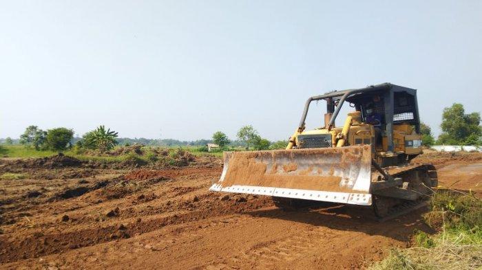 Proses Pembangunan Gedung di Puspemkab Serang di Ciruas Sudah Dimulai