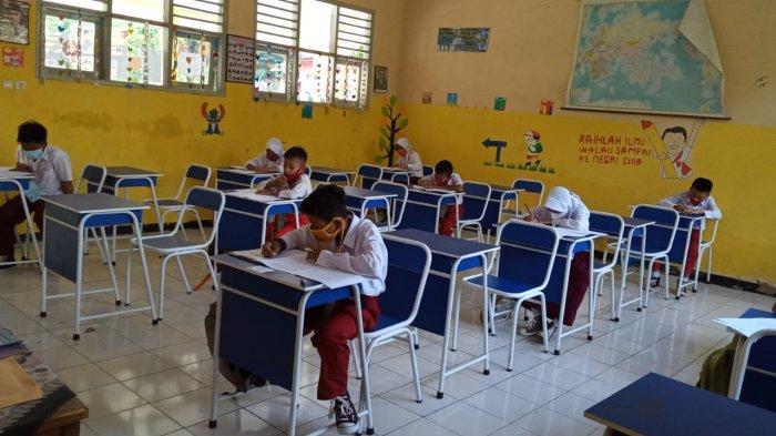 624 SD di Kabupaten Serang Mulai Belajar Tatap Muka, Terapkan Protokol Kesehatan Secara Ketat