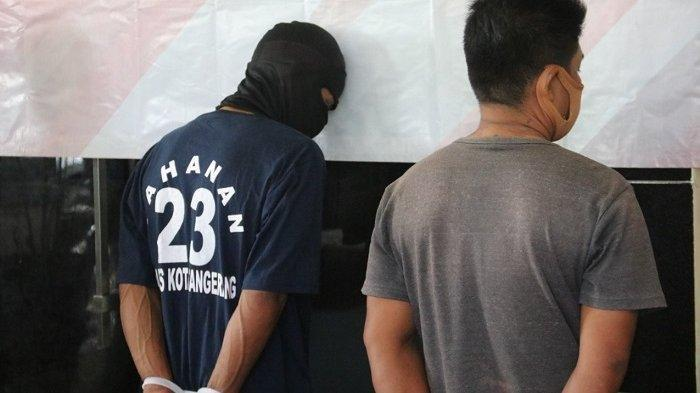 Polisi Tangkap Peminta Secara Paksa Uang Parkir Rp 100.000 di Tangerang