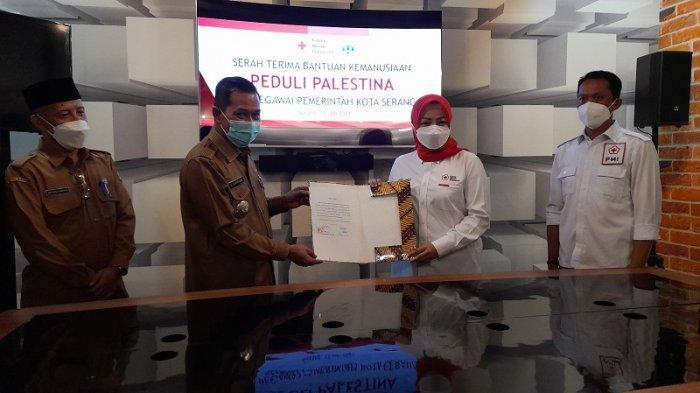 Di Tengah Pandemi, Pemkot Serang Donasikan Rp 80 Juta untuk Bantu Rakyat Palestina