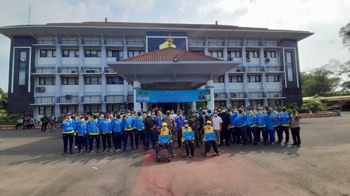Wali Kota Serang Lepas 85 Atlet dan Ofisial ke PON XX Papua, Ada Pebulutangkis Penghuni Pelatnas