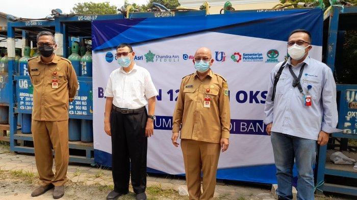 Pemprov Banten Terima Bantuan Pasokan Oksigen 120 Ton, Segera Disalurkan ke 14 Rumah Sakit, Gratis