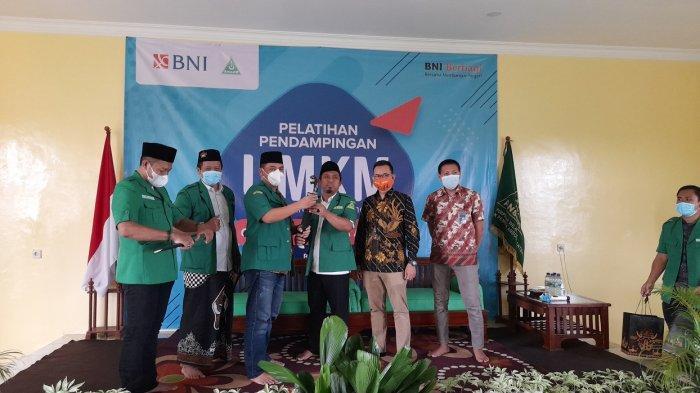 Bekerja Sama dengan Bank, GP Ansor Bina dan Dampingi Pengusaha Kecil Banten agar Bangkit