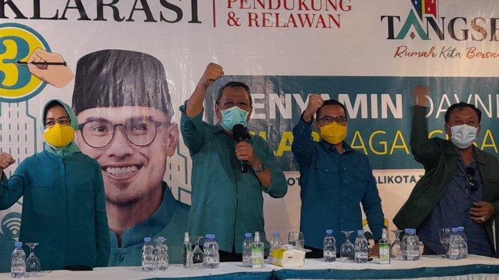 Profil Biodata Benyamin-Pilar Calon Pemenang Pilkada Tangsel, Duet 'Anak Kolong' dan Putra Pejabat