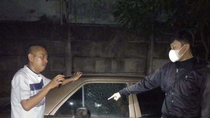 Teror di Perumahan Bukit Serpong Tangsel, Warga Temukan Bekas Tembakan di Kaca Mobil