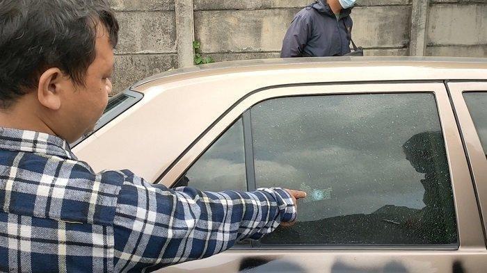 Aksi Penembakan Mobil Mercy di Serpong Tangsel, Polisi Olah TKP, Proyektil Peluru Ditemukan