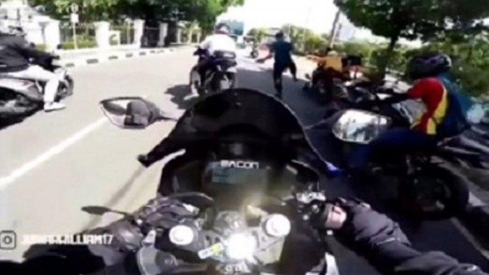Pengendara Moge Ditendang Paspampres Saat Sunmori, Besok Bakal Dipanggil Polisi