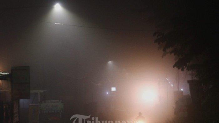 Kabut Tebal di Wilayah Serang Sabtu Dini Hari Tadi, Apa Penjelasan BMKG?