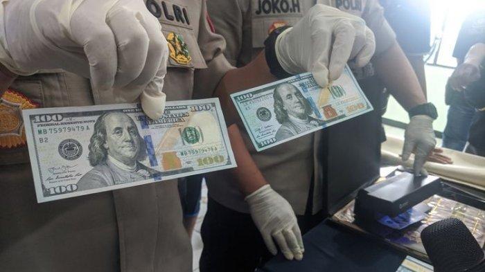 Polresta Bandara Soetta Gagalkan Peredaran 1.000 Lembar Uang Dollar Palsu, Kerugian Negara Rp 1,4 M