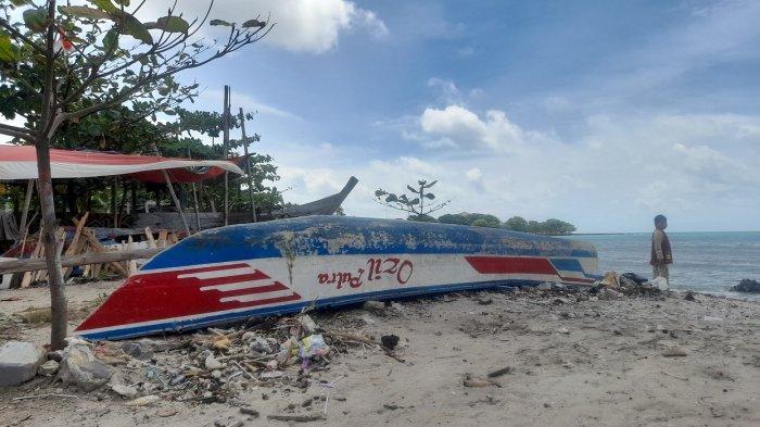 Pantai Anyer Kosong Sejak Pukul 18.00 WIB, Kapolres Cilegon: Kalau Sudah Gelap Susah Awasi