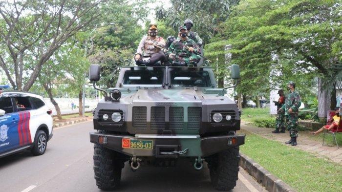 Personel Gabungan Lakukan Patroli Skala Besar Saat Natal dan Tahun Baru di Kabupaten Tangerang