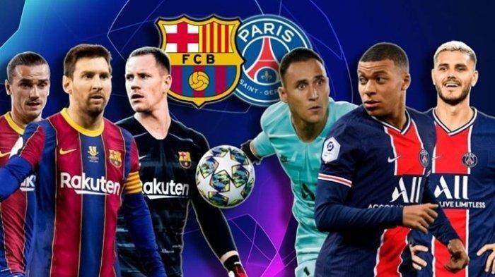 Hasil Liga Champions: Barcelona vs PSG 1-4, Mbappe Manusia Ketiga yang Hat-trick ke Gawang Barca