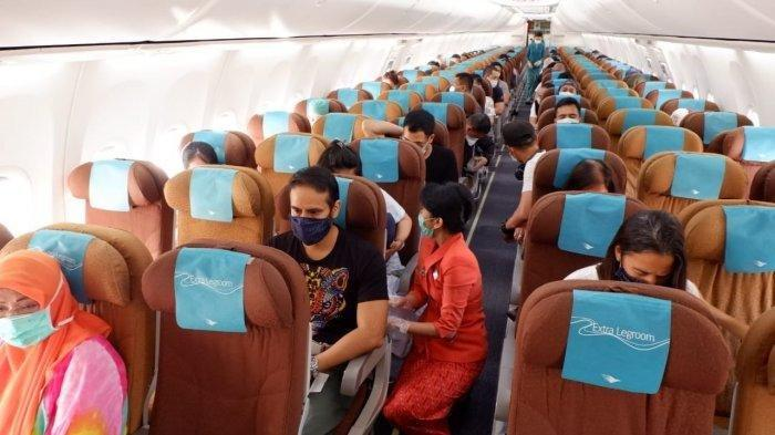 Naik Pesawat Aman Saat Pandemi, Protokol Kesehatan Diterapkan Secara Ketat, Simak Petunjuk Berikut