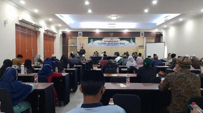 Pemkot Serang Bina Calon Peserta MTQ yang Akan Berlomba ke Tingkat Provinsi