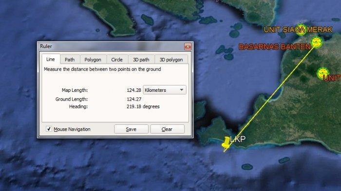 ABK Terjatuh dan Hilang di Perairan Pulau Deli Pandeglang Setelah Mengecek Kapal Kargo Luar Negeri