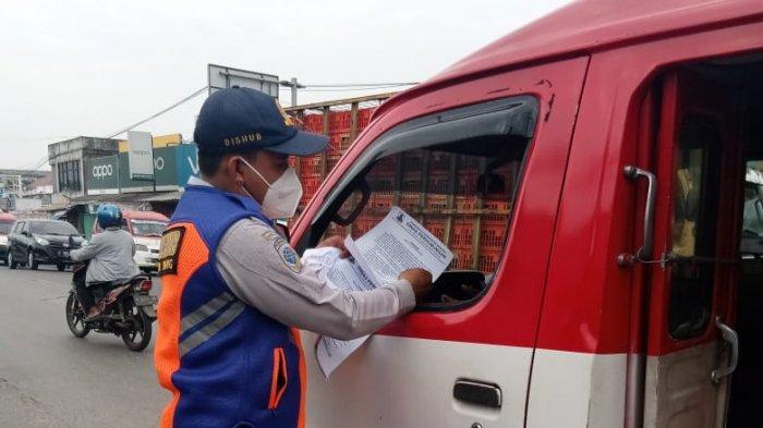 Dishub Kabupaten Serang Minta Angkutan Umum Lakukan Sterilisasi Kendaraan