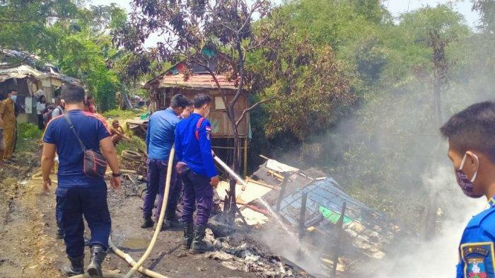 Masak Mi Instan Ditinggalkan, Rumah Warga Kecamatan Ibin Kabupaten Serang Terbakar, Rusak Parah