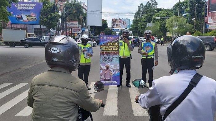 Satlantas Polres Serang Kota Imbau Warga Tidak Mudik saat Operasi Keselamatan