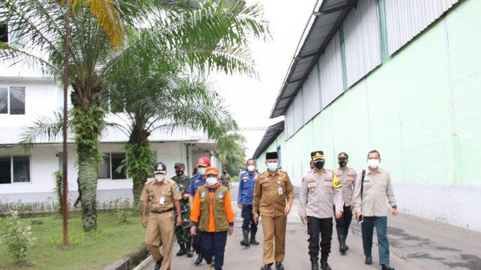 Sidak PPKM Darurat, 5 Karyawan Pabrik Kain di Kopo Kabupaten Serang Reaktif Covid-19