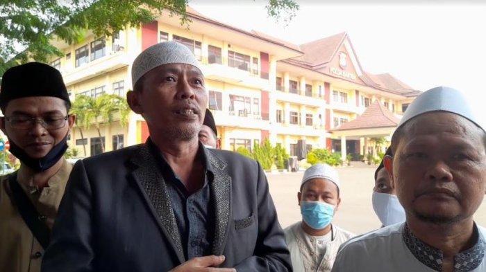 Tak Terima Dianggap Fiktif, Sejumlah Pimpinan Ponpes di Serang Datangi Polda Banten