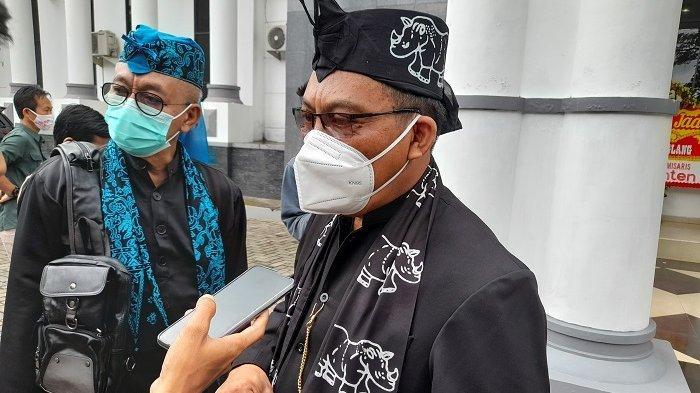 Pjs Bupati Pandeglang Pery Hasanudin saat ditemui di Kantor DPRD Pandeglang, Jalan Pendidikan nomor 1, Kabupaten Pandeglang, Kamis (1/4/2021).