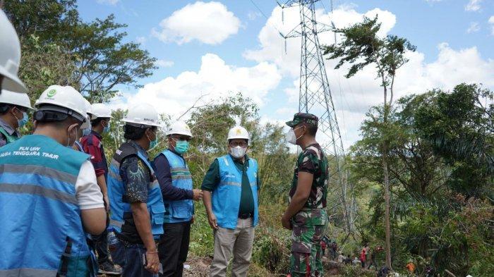 PLN Terjunkan 723 Personel, termasuk dari Banten, Kelistrikan 6 Kabupaten di NTT Pulih 100 Persen