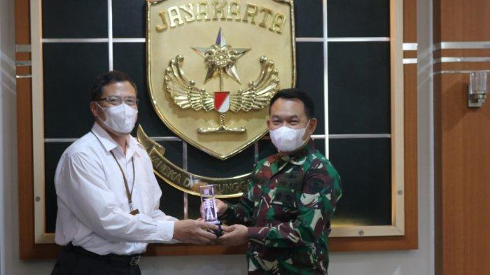 PLN Temui Pangdam Jaya dan Ombudsman Perwakilan Banten untuk Memperkuat Sinergi
