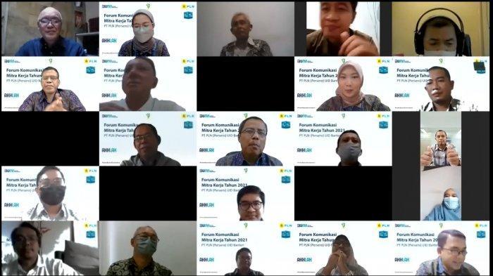 PLN UID Banten Gelar Forum Komunikasi dengan Mitra Kerja, GM: PLN Bertransformasi dengan Empat Pilar