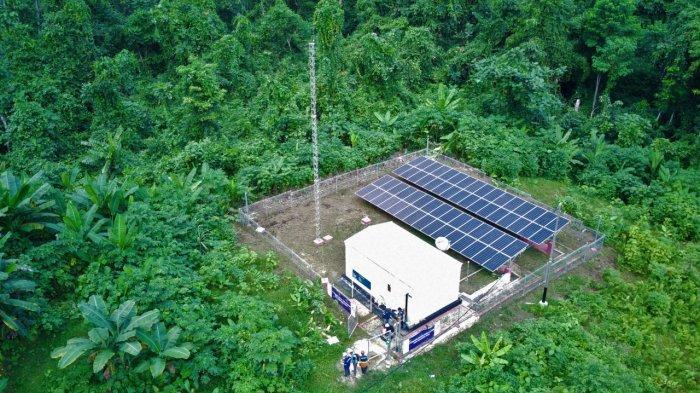 PLN Percepat Listriki Desa-desa Terpencil di Papua, Sebagian Besar Memakai Tenaga Surya