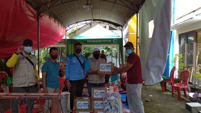 Selain Pulihkan Listrik, PLN UID Banten Salurkan Bantuan bagi Korban Banjir Tangerang Lewat YBM