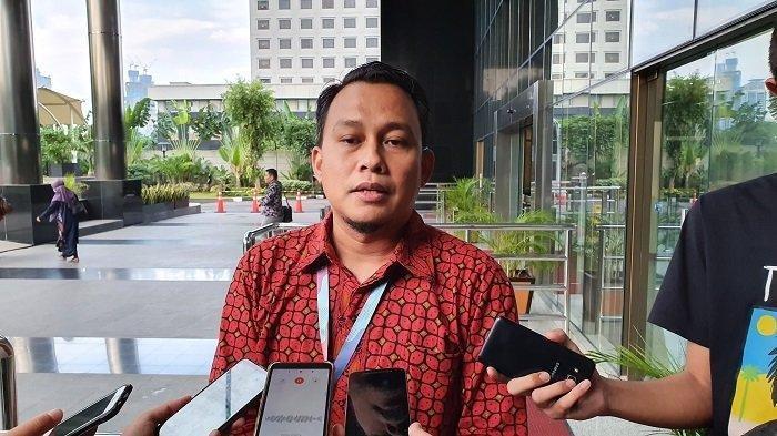 Plt Juru Bicara Bidang Penindakan KPK Ali Fikri di Gedung Merah Putih KPK, Jakarta Selatan, Jumat (3/1/2020).