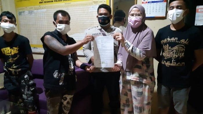 Pengamen di Pasar Kranggot Ini Berjanji Tak Mengulangi Perbuatannya, Disuruh Tanda Tangan Bermeterai