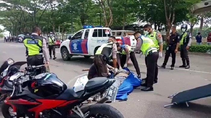 Detik-detik Kecelakaan Maut Tewaskan Pemotor di Tangerang, Berawal dari Konvoi Moge
