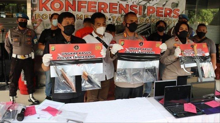 Komplotan yang Mencuri Rumah Warga di Tangerang saat Idul Fitri Ditangkap
