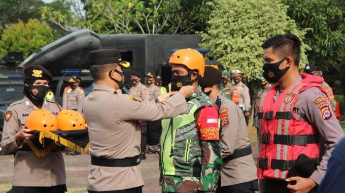 Kabupaten Lebak Siaga Bencana Selama 60 Hari, Polres Lebak Gelar Apel Kesiapsiagaan
