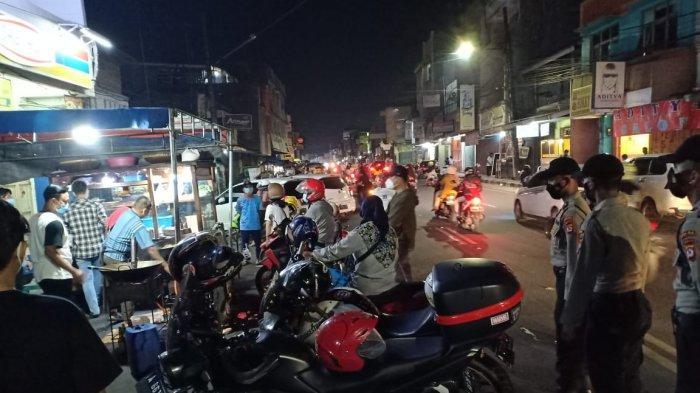 PPKM Darurat, Polres Serang Gelar Patroli di Titik Keramaian dan Pusat Perbelanjaan